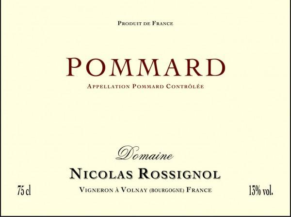 French Wine Domaine Nicolas Rossignol Pommard 2012 750ml