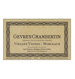French Wine Domaine Philippe Charlopin Gevrey-Chambertin Vieilles Vignes-Morgeaux 2012 750ml