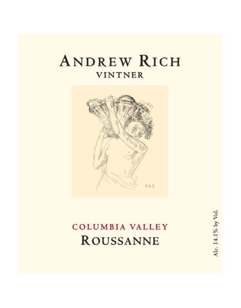 American Wine Andrew Rich Columbia Valley Roussane 2014 750ml