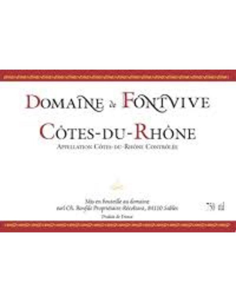Domaine de Fontvive Cotes du Rhone Rouge 2016 750ml