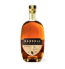 Rye Whiskey Barrell Rye Batch #1 Cask Stength 58.5% 750ml