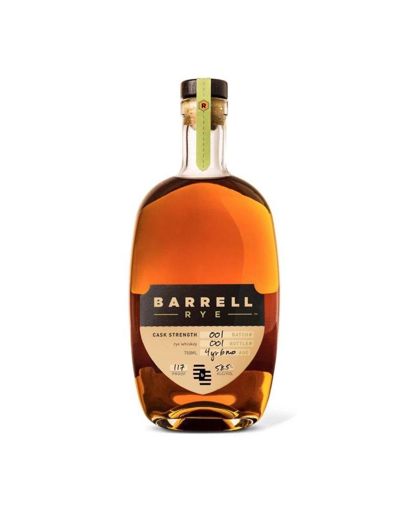 Barrell Rye Batch #1 Cask Stength 58.5% 750ml