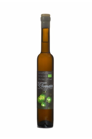 "Liqueur Laurent Cazottes ""72 Tomatoes"" Brandy with Natural Tomato Flavor 375ml"