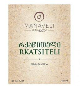 Manaveli Rkatsiteli White Dry Wine Georgia 2015 750ml