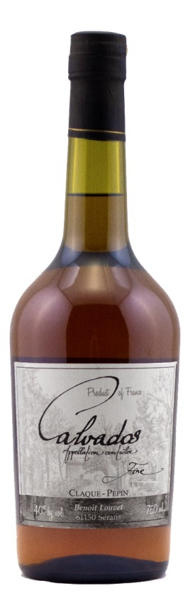 Brandy Claque-Pepin Fine Calvados 750ml