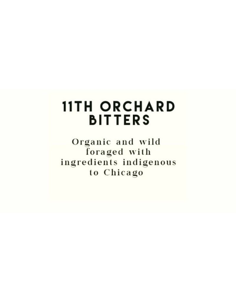 "11th Orchard Bitters ""Rosehip"" Bitters 4oz"