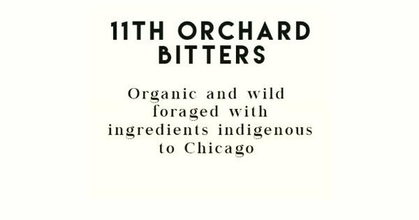 "Bitter 11th Orchard Bitters ""Birch Bark"" 4oz"