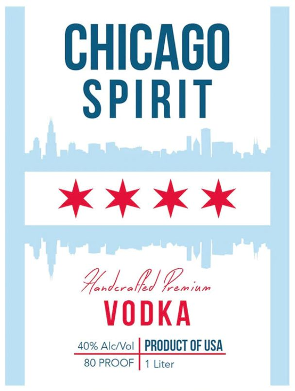 Vodka Chicago Spirit Vodka 1L