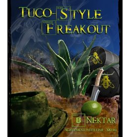 "Mead B. Nektar Tuco-Style ""Freakout"" Agave Mead with Lime 500ml"