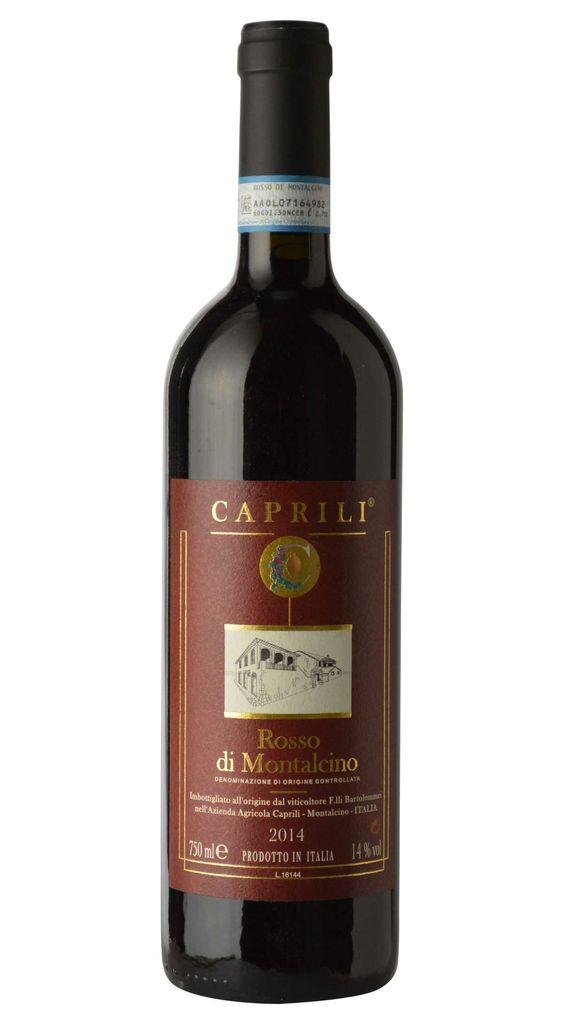 Italian Wine Caprili Rosso di Montalcino 2016 750ml