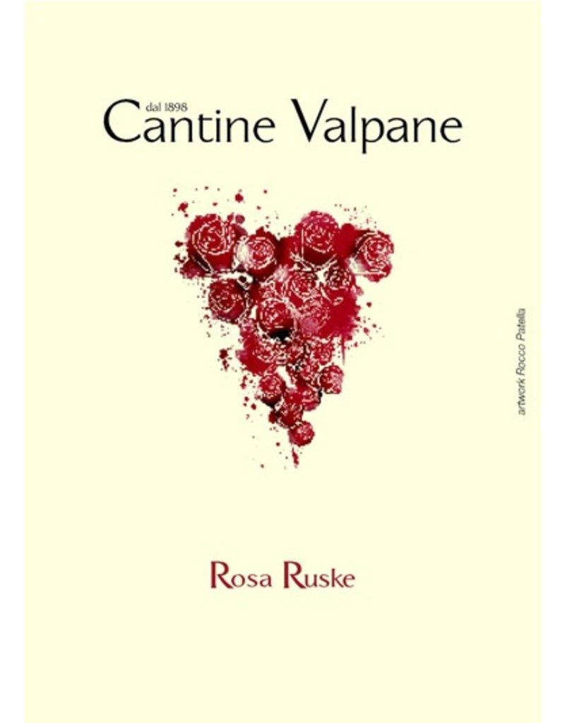 """Italian Wine Cantine Valpane """"Rosa Ruske"""" Vino Rosso 2015 750ml"""