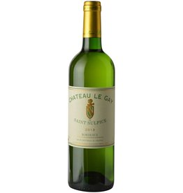 French Wine Chateau le Gay de Saint Sulpice Bordeaux Blanc 2013 750ml