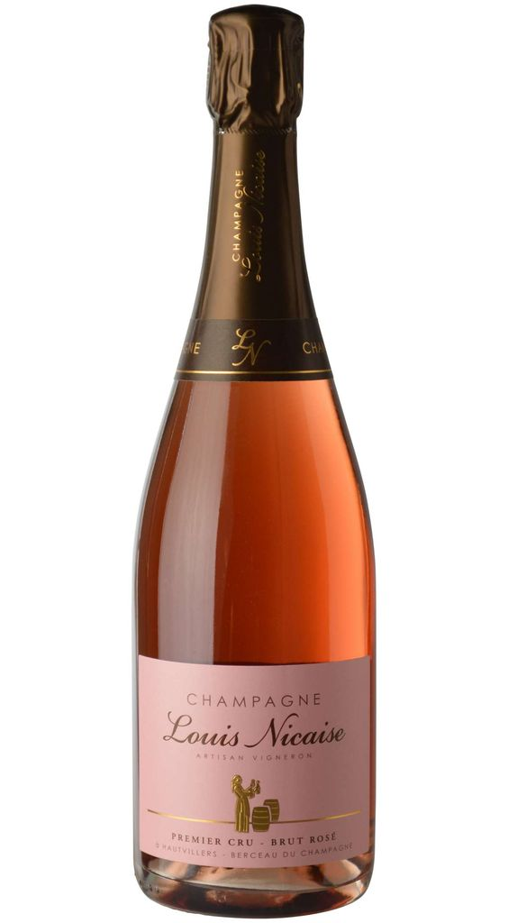 Sparkling Wine Louis Nicaise Brut Rosé Premiere Cru Champagne NV 750ml