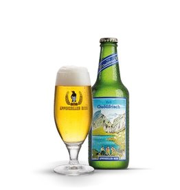 Beer Brauerei Locher Appenzeller Bier Quoellfrisch 11.2oz 10Pack
