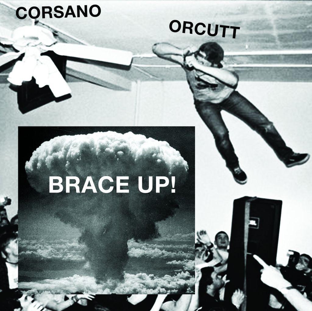 Chris Corsano & Bill Orcutt - Brace Up! LP