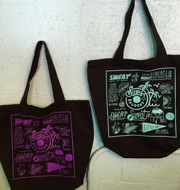 "Sweat x Brian Butler Small ""Logo Sheet"" Tote"