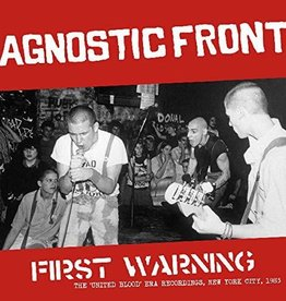 Agnostic Front - First Warning LP