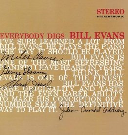 Bill Evans - Everybody Digs Bill Evans LP