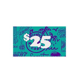 $25 Sweat Records Gift Card