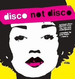Various - Disco Not Disco: Leftfield Disco Classics From The New York Underground Compiled By Joey Negro & Sean P. 3LP