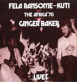 Fela Ransome Kuti & Africa 70 With Ginger Baker - Live! LP