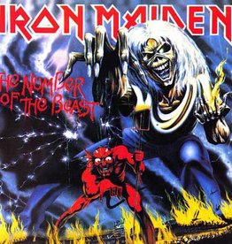 Iron Maiden - The Number Of The Beast LP