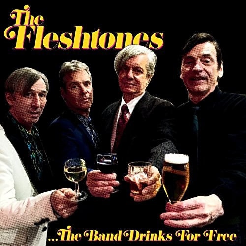 The Fleshtones - The Band Drinks For Free LP