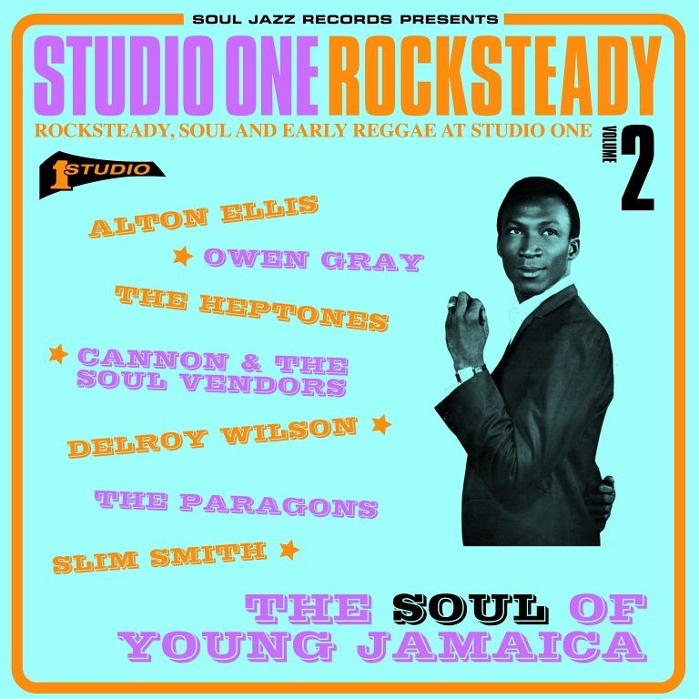 Various - Studio One Rocksteady Vol. 2 2LP