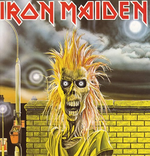 Iron Maiden - S/T LP