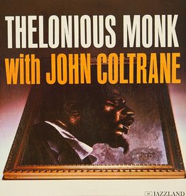 Thelonious Monk With John Coltrane - S/T LP