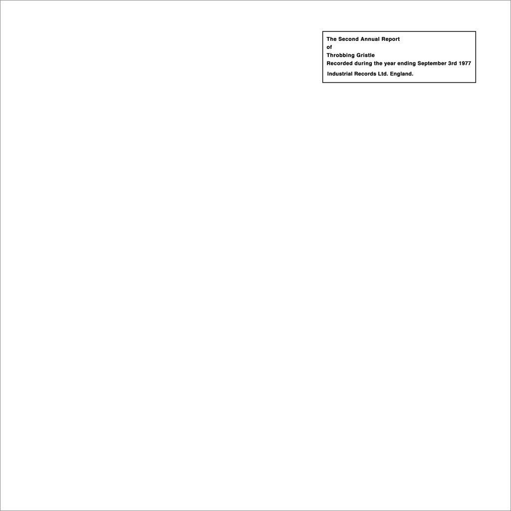 Throbbing Gristle - Second Annual Report LP