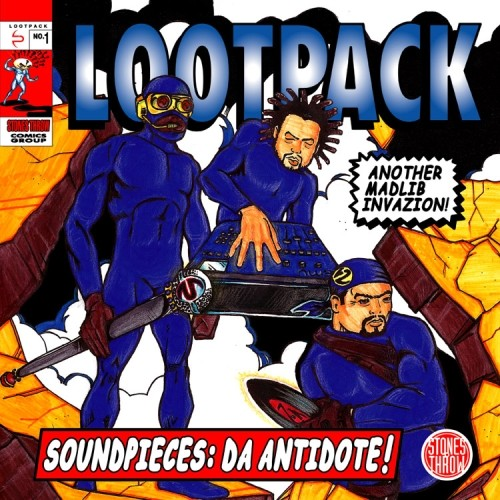 Lootpack - Soundpieces: Da Antidote 3LP+7""