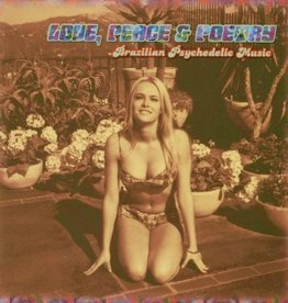 Various - Love, Peace & Poetry: Brazilian Psychedelic Music LP