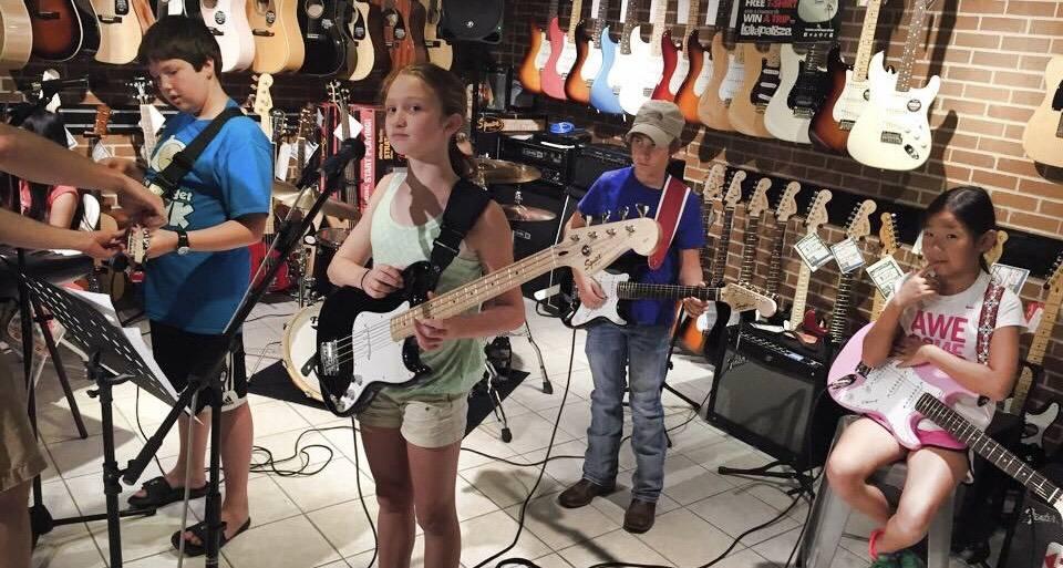 Back Beat Music Rockin' Summer Camp