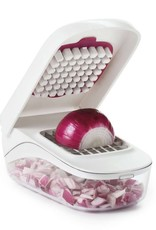 Oxo Vegetable Chopper with Easy Pour Opening (Shoptiques)