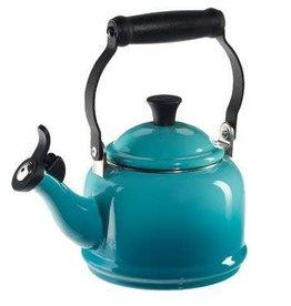 Le Creuset 1.25qt Demi Tea Kettle Caribbean