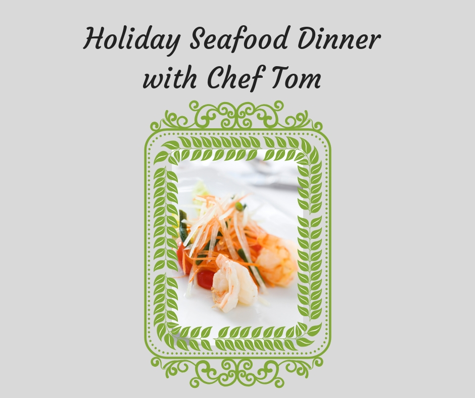 Holiday Seafood Class at Bekah Kate's in Downtown Baraboo