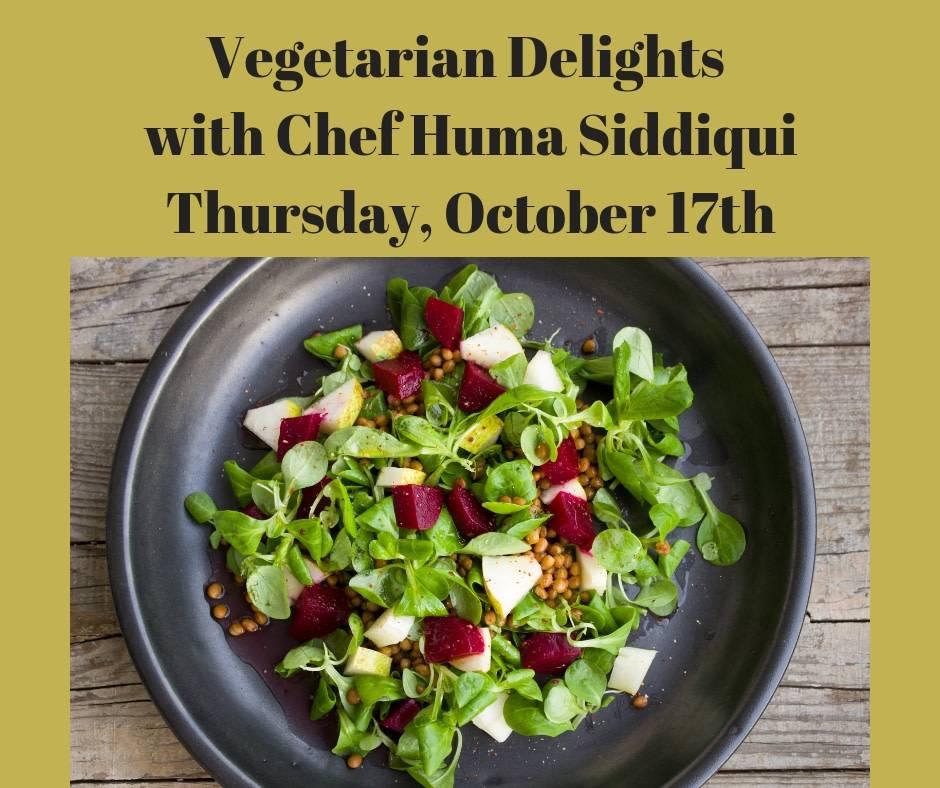 Vegetarian Delights Cooking Class