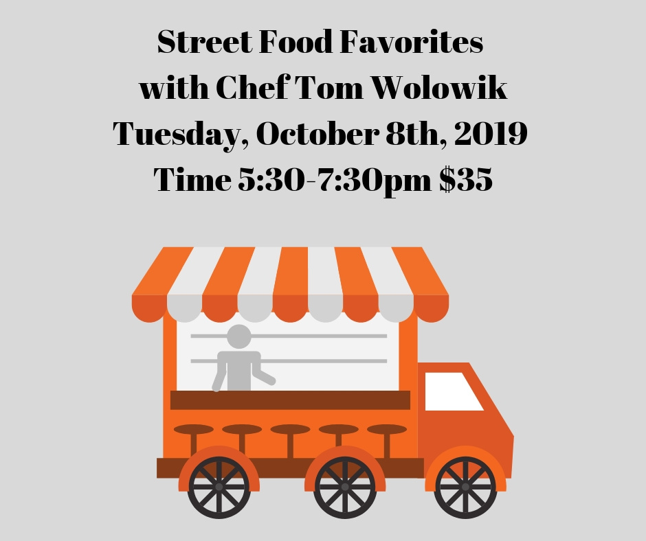 Street Food Cooking Class 10/08/19