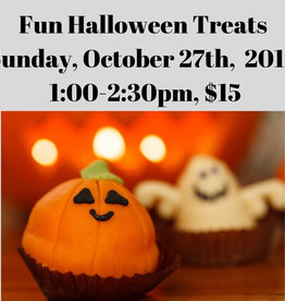 Fun Halloween Treats Kids' Cooking Class - 10/27/19