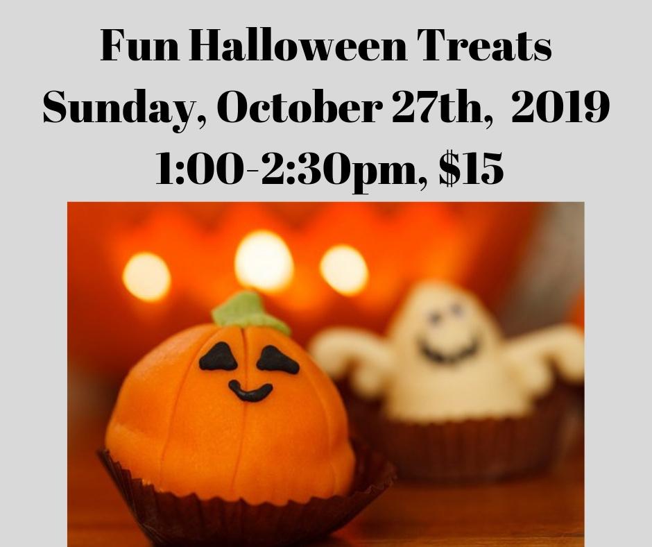 Fun Halloween Treats Kids' Cooking Class - 10/27/19