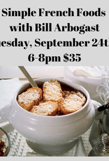 Simple French Foods 9/24/19