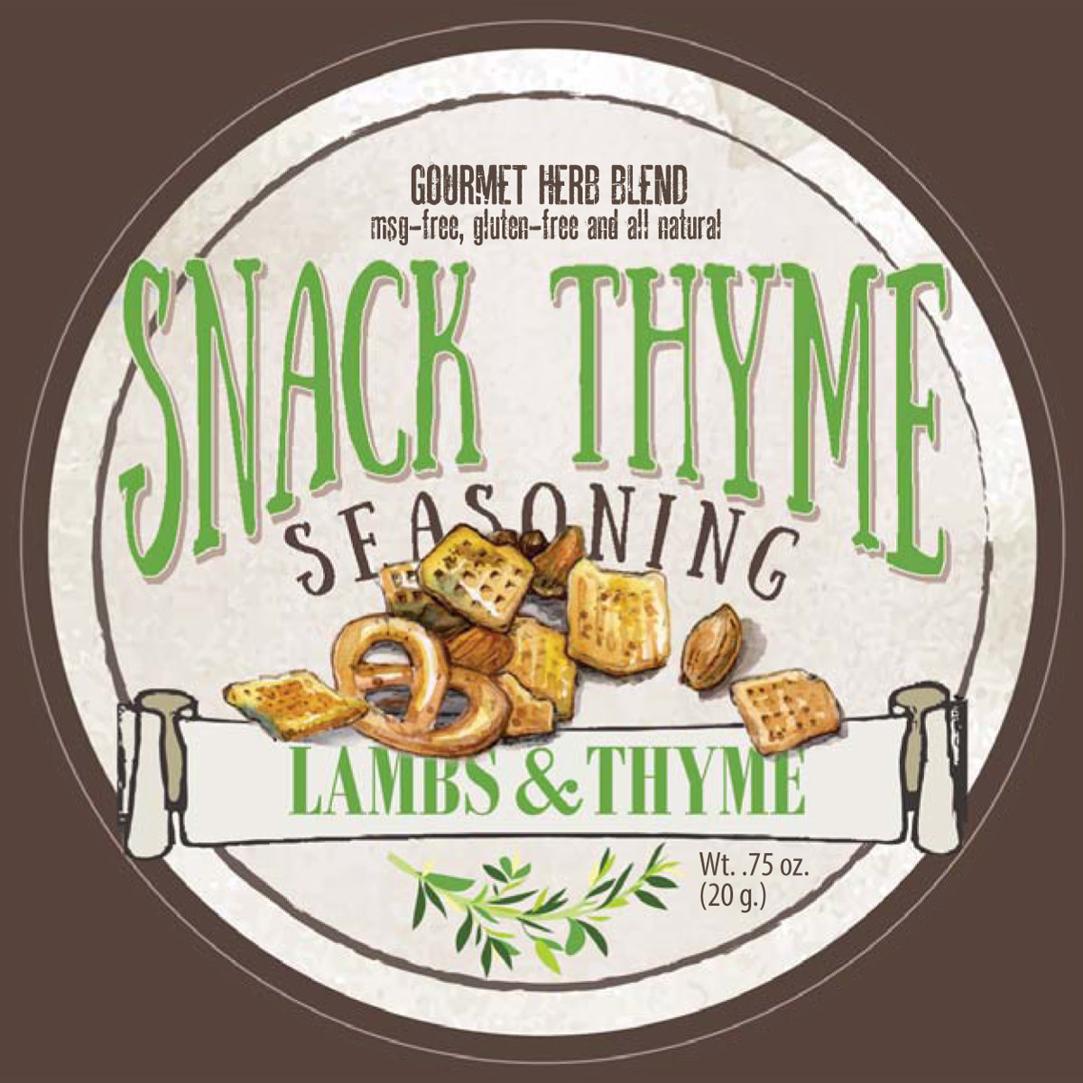Lambs & Thyme Snack Thyme Seasoning