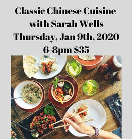Classic Chinese Cuisine Cooking Class 1/9/19