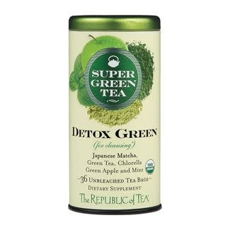 Republic of Tea Detox Green Supergreen Tea
