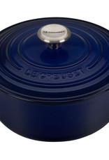 Le Creuset 7.25 Qt Signature Round Dutch Oven Indigo