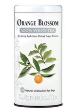 Republic of Tea Orange Blossom White Bags
