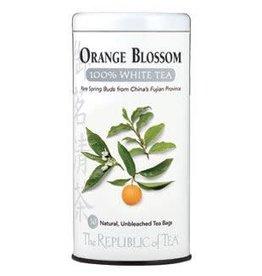 Republic of Tea Orange Bl Wht Bags