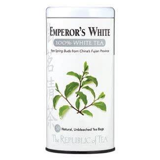 Republic of Tea Emperors White Tea bags