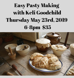 Easy Pasty Making Cooking Class